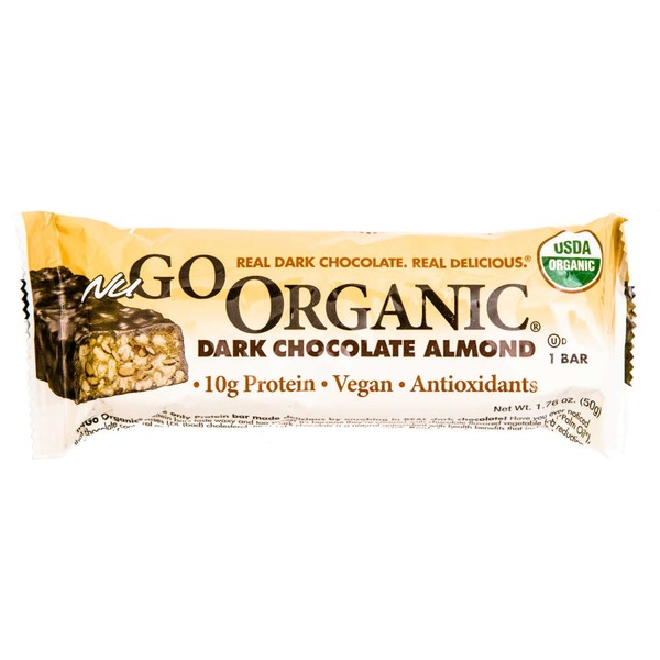 NuGo Dark Chocolate Almond Nutrition Bars