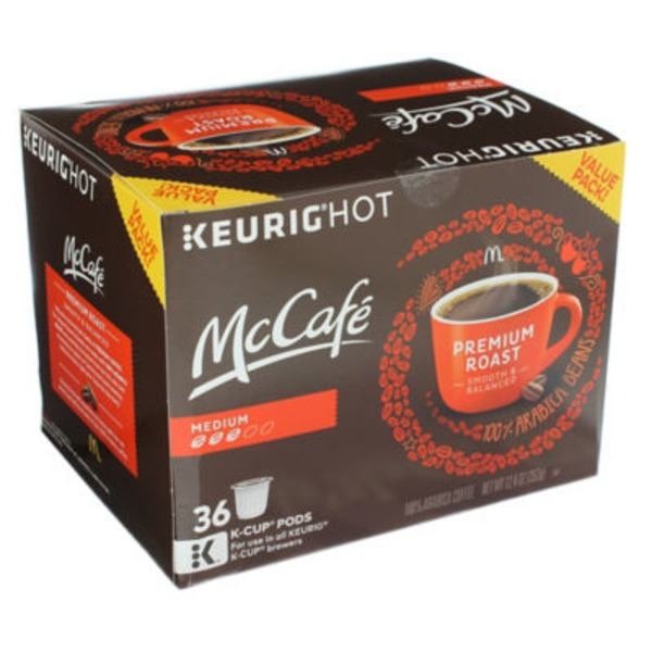 McCafe Premium Medium Roast K-Cup Pods