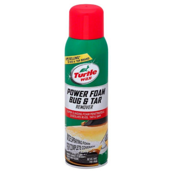 Turtle Wax Bug & Tar Remover Power Foam