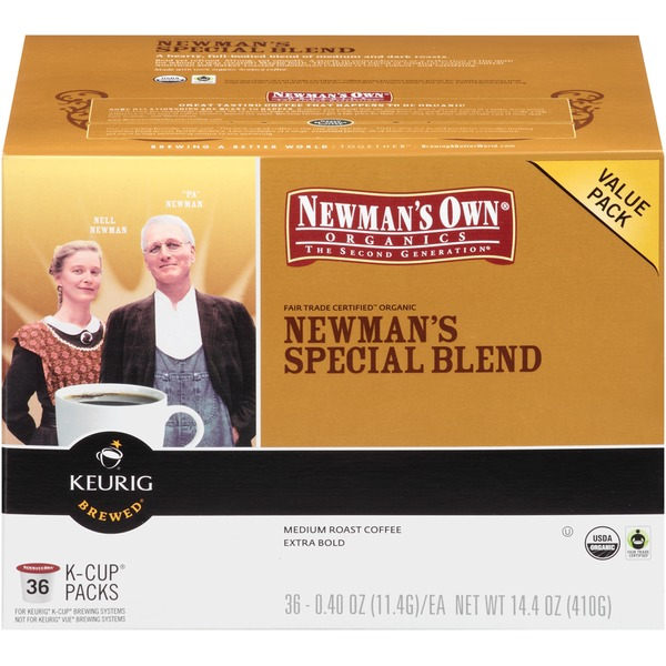 Newman's Own Newman's Special Blend K-Cup Packs Coffee