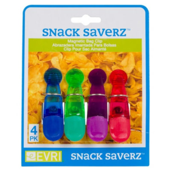 Evriholder Magnetic Snack Saverz Bag Clips