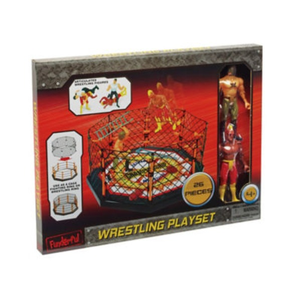 Funderful Wrestling Playset
