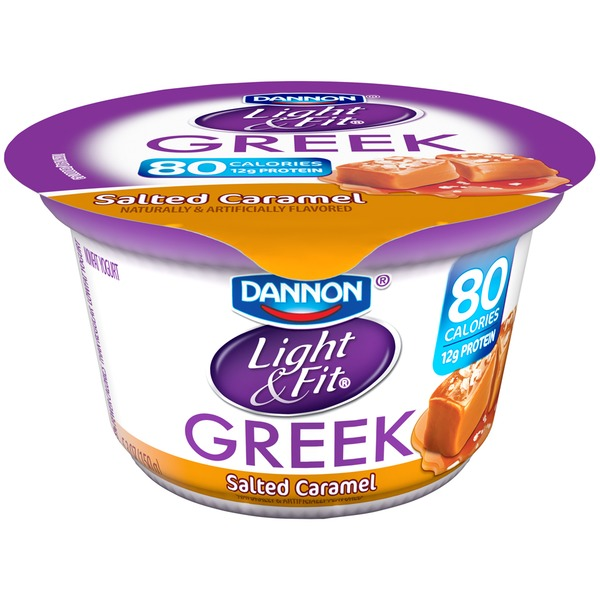 Light & Fit Greek Salted Caramel Greek Yogurt
