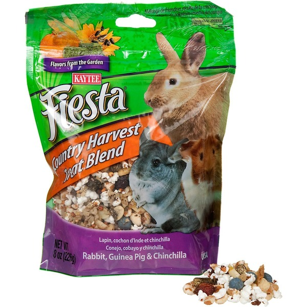 Kaytee Fiesta Country Harvest Blend Rabbit Guinea Pig And Chinchilla Treat
