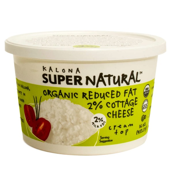 Kalona Super Natural Organic Reduced Fat 2% Cottage Cheese
