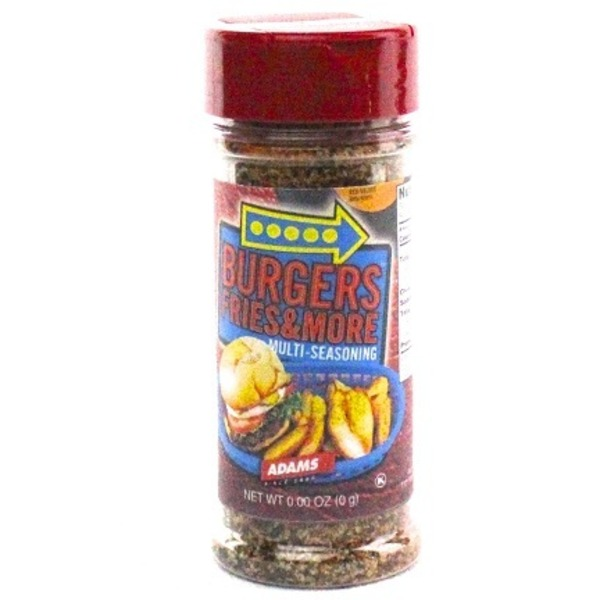 Adams Burgers, Fries & More Multi Seasoning