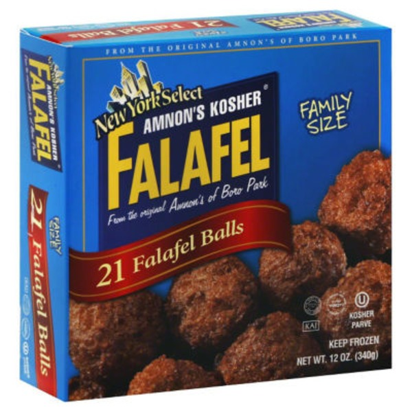 Amnons Kosher Falafel Balls, New York Select, Family Size