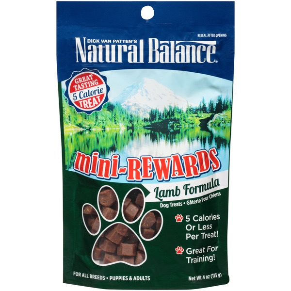 Natural Balance Mini-Rewards Lamb Formula Dog Treats