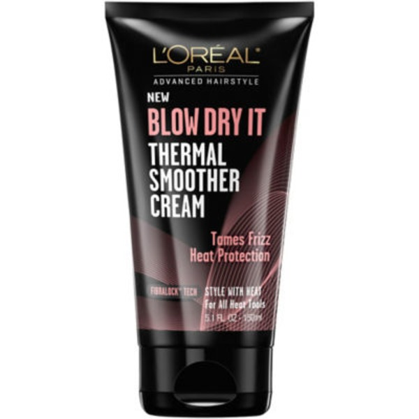 Advanced Hairstyle for All Heat Tools Blow Dry It Thermal Smoother Cream