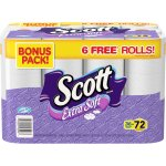 Scott Extra Soft Double Roll Bath Tissue, 264 sheets, 36 Rolls