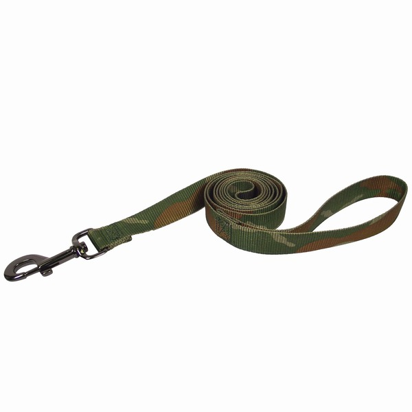 Hamilton Nylon Dog Leash In Camouflage Print 6' L X 1