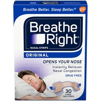 Breathe Right Original Large Tan Nasal Strips