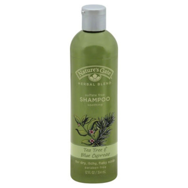 Nature's Gate Shampoo, Sulfate Free, Soothing, Tea Tree & Blue Cypress