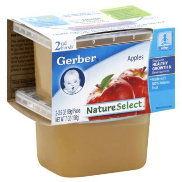 Gerber Apples 2nd Foods