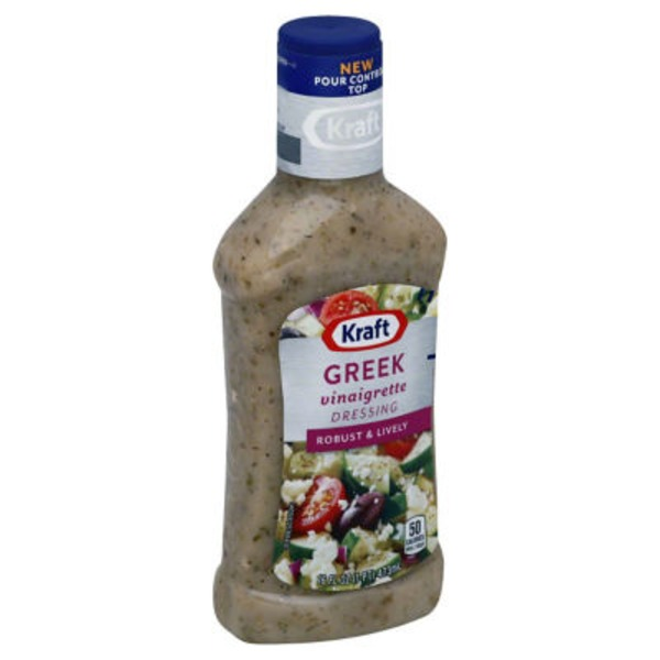 Kraft Salad Dressing Vinaigrette Greek Dressing