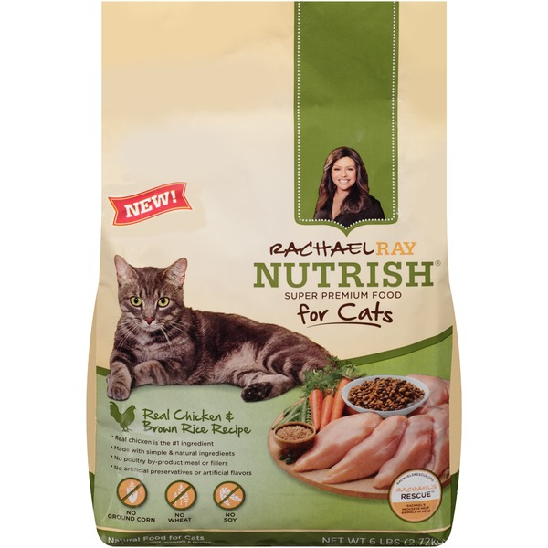 Nutrish Real Chicken & Brown Rice Recipe Cat Food