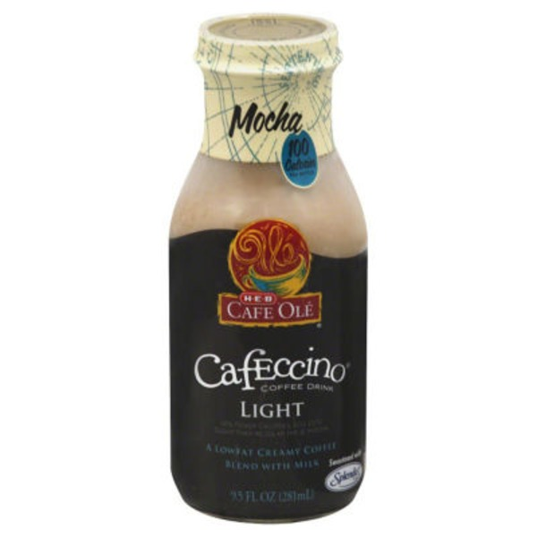 H-E-B Cafe Ole Mocha Light Cafeccino