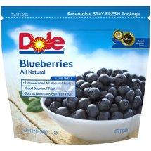 Dole All Natural Blueberries, 12 oz