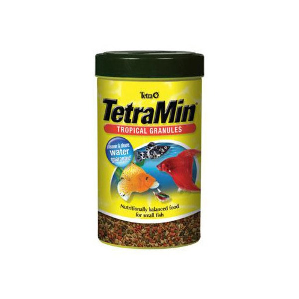 TetraMin Tropical Granules Nutritionally Balanced Food for Small Fish