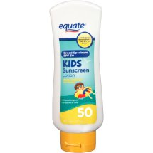 Equate Kids Sunscreen Lotion, SPF 50, 8 Oz