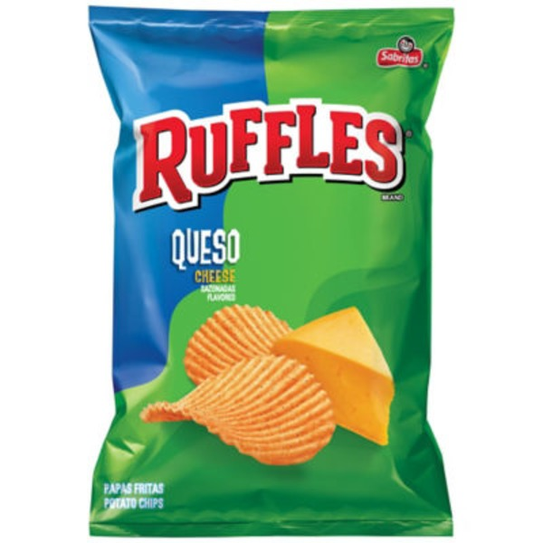 Ruffles Queso Cheese Potato Chips