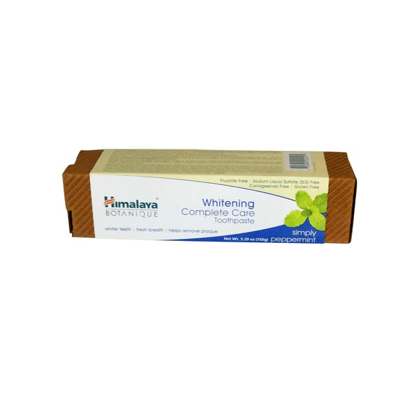 Himalaya Herbals Peppermint Whitening Complete Care Toothpaste