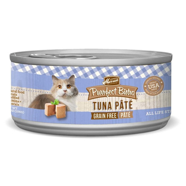 Merrick Purrfect Bistro Grain Free Tuna Pate Canned Cat Food