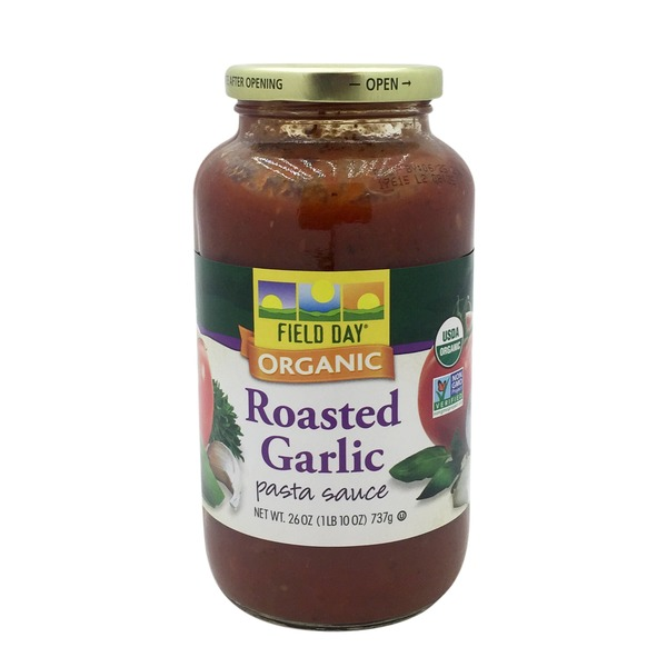Field Day Organic Roasted Garlic Pasta Sauce