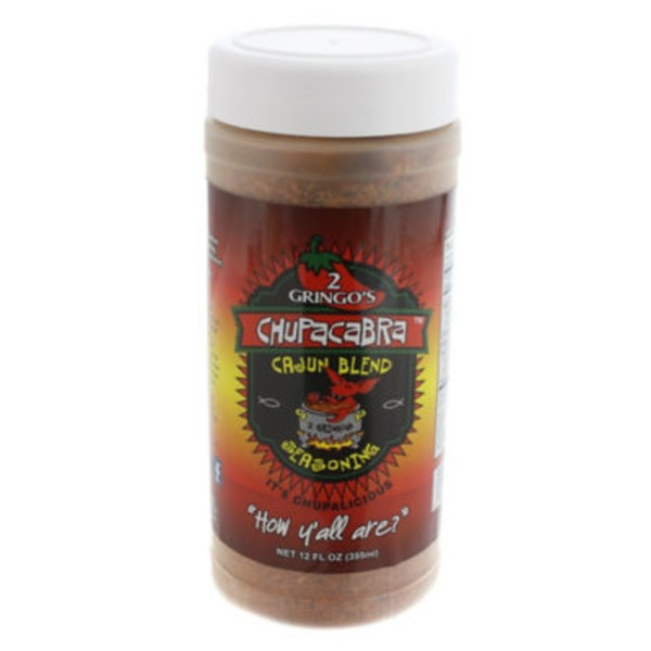 2 Gringos Chupacabra Cajun Blend Seasoning