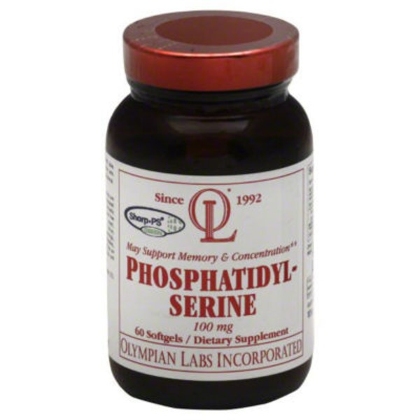 Olympian Labs Phosphatidylserine 100 mg  Softgels