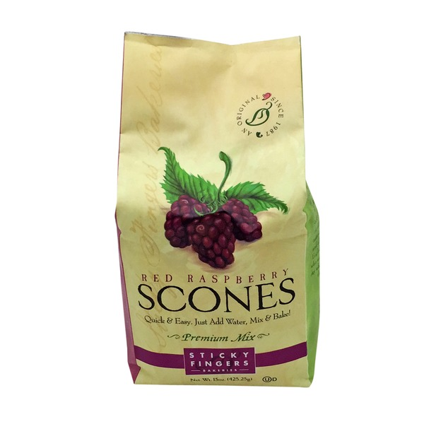 Sticky Fingers Bakeries Red Raspberry Scones Mix