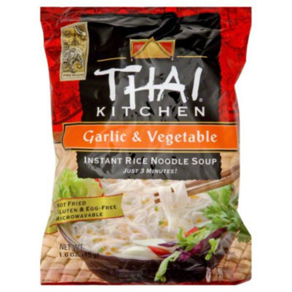 Thai Kitchen Garlic & Vegetable Instant Rice Noodle Soup