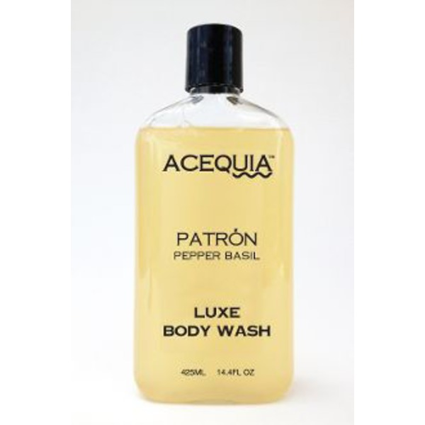 Acequia Patrón Black Pepper & Basil Luxe Body Wash