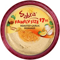 Sabra Roasted Garlic Hummus, Family Size