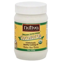 Nutiva Organic Superfood Coconut Oil Virgin