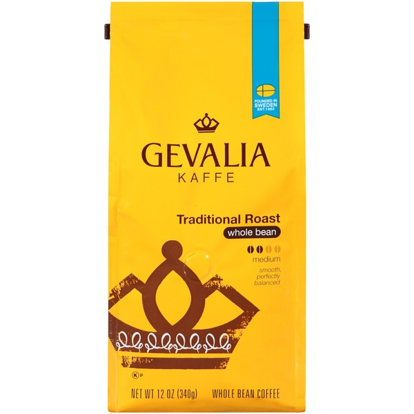 Gevalia Traditional Roast Whole Bean Coffee