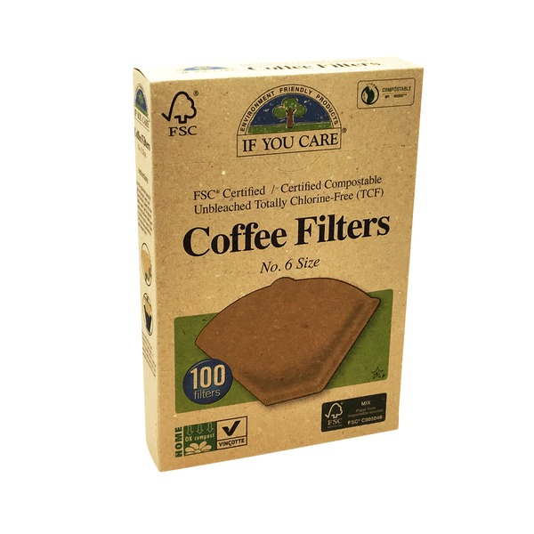 If You Care Coffee Filters, No. 6 Size