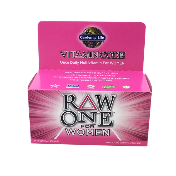 Garden of Life Raw One Multi Vitamin For Women