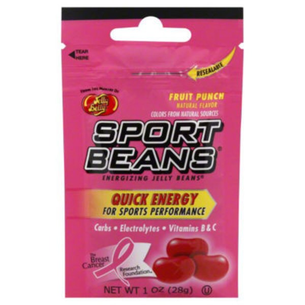 Jelly Belly Quick Energy Fruit Punch Jelly Beans Candy