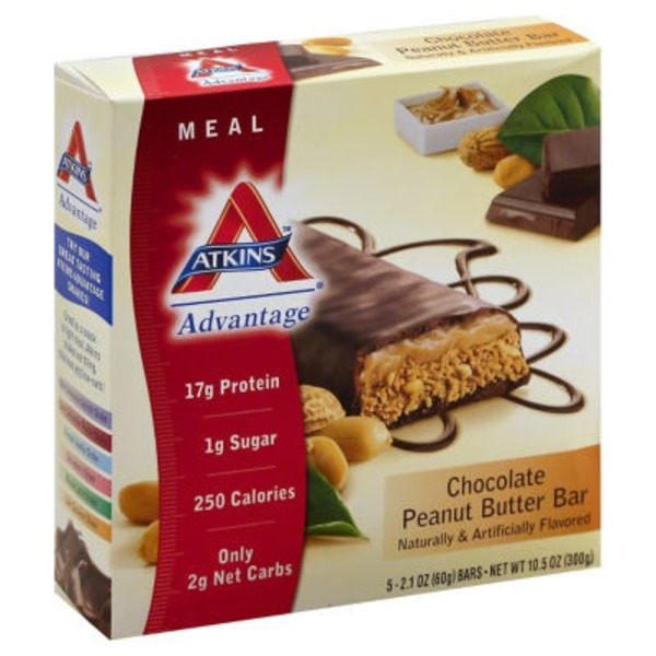 Atkins Advantage Chocolate Peanut Butter Snack Bar
