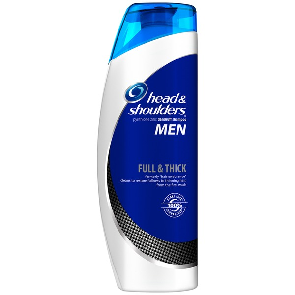 Head & Shoulders Full & Thick Head and Shoulders Full & Thick Dandruff Shampoo for Men 13.5 Fl Oz Female Hair Care