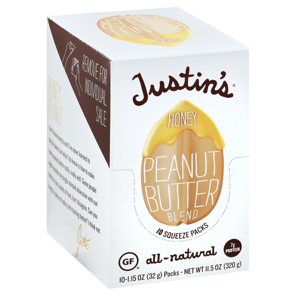 Justin's Peanut Butter Blend, Honey
