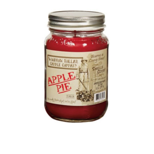 Woodrow Hollar Apple Pie Candle 12 Oz Jar