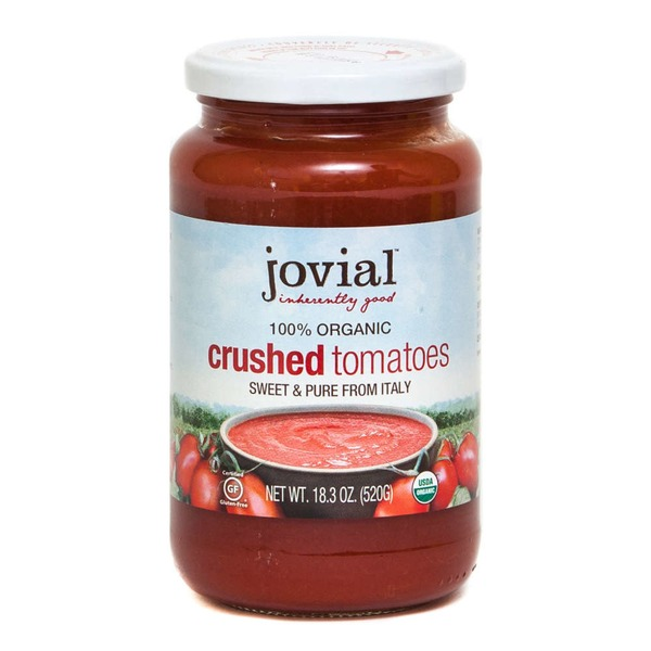 Jovial 100% Organic Crushed Tomatoes