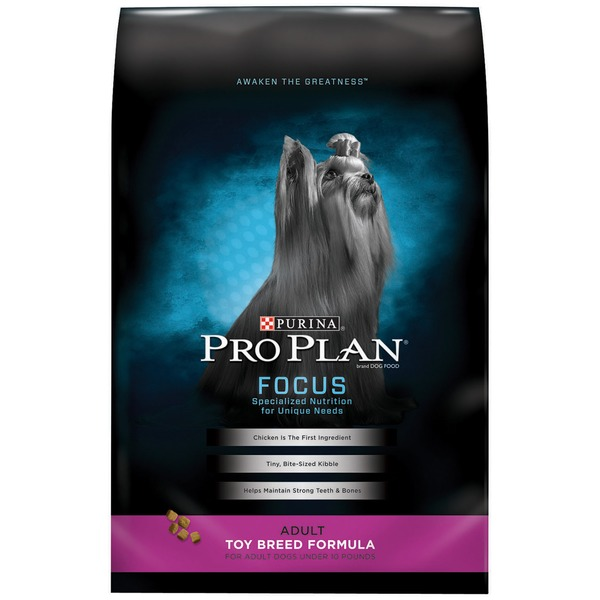 Pro Plan Dog Dry Focus Adult Toy Breed Formula Dog Food