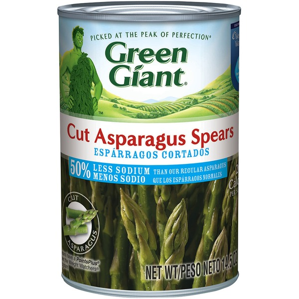 Green Giant Cut 50% Less Sodium Asparagus Spears