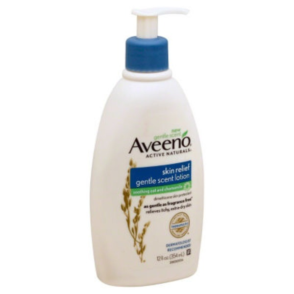 Aveeno Skin Relief Lotion Soothing Oat and Chamomile