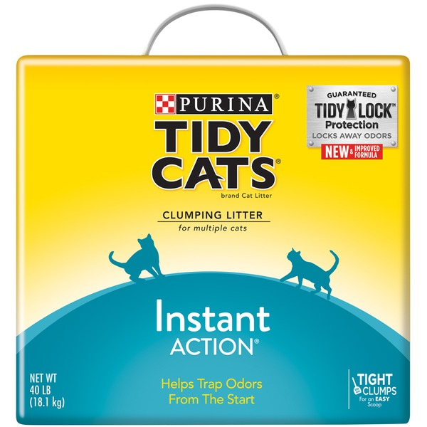 Tidy Cats Clumping Instant Action Cat Litter