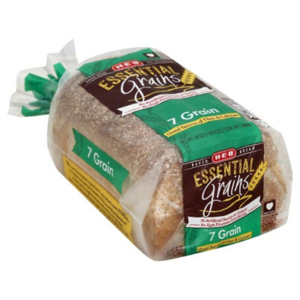 H-E-B 7 Grain Bread