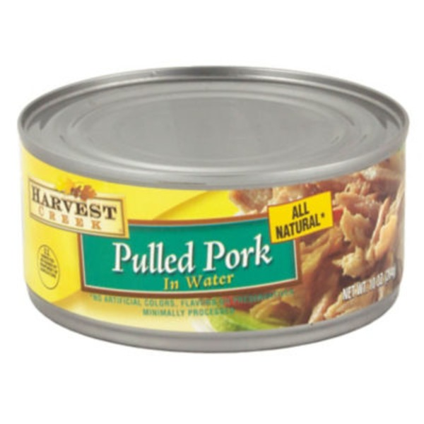 Harvest Creek All Natural Pulled Pork In Water